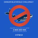 Le #Bluewhale challenge : nouveau danger des réseaux sociaux