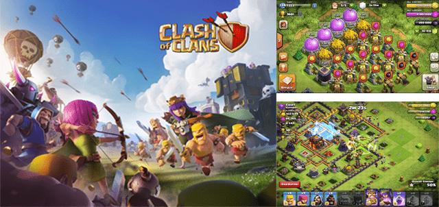 jeu clash of clans