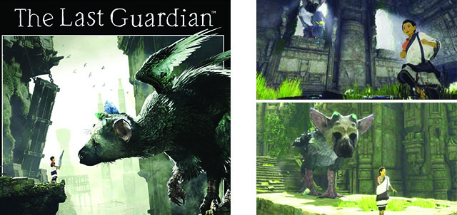 jeu The last Guardian