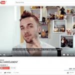 Le Youtubeur Squeezie dit NON AU HARCELEMENT !