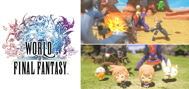 jeu world of final fantasy