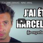 Le Youtubeur Nino Arial s'engage contre le cyberharcèlement et harcèlement à l'ecole.