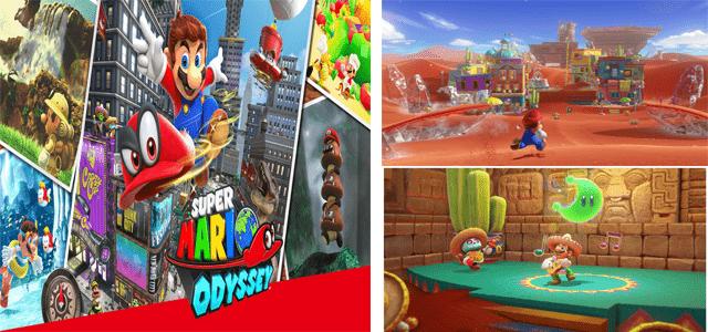 jeu Mario Odyssey