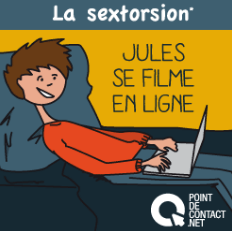 affiche sextorsion