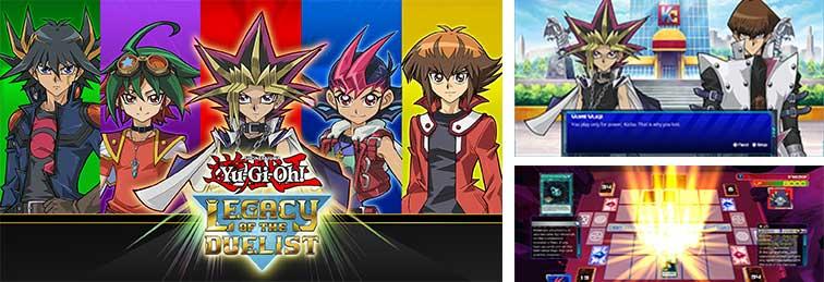 jeu Yu-Gi-Oh legacy of the duelist