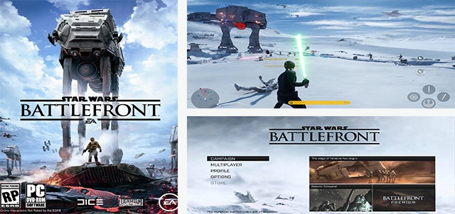 jeu star wars Battlefront