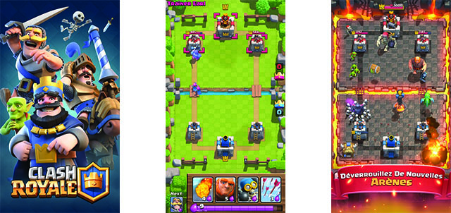 jeu Clash royale