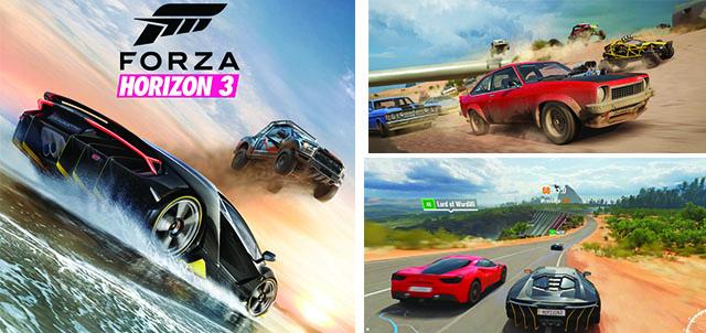 jeu Forza horizon 3