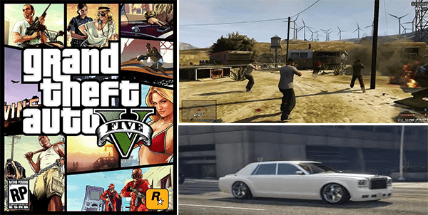 jeu grand theft auto 5