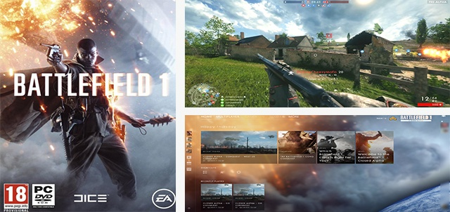 jeu Battlefield 1