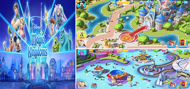 jeu Disney Magic Kingdoms