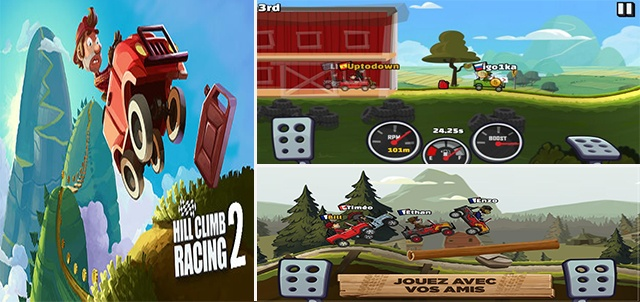 jeu Hill Climb Racing 2