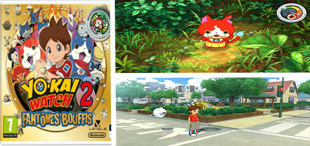 Jeu Yo-Kai Watch 2