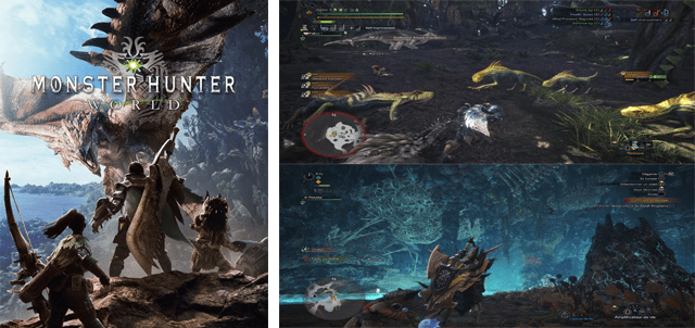 jeu Monster hunter world
