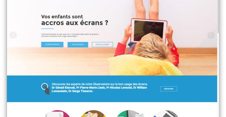 site web bon usage des ecrans