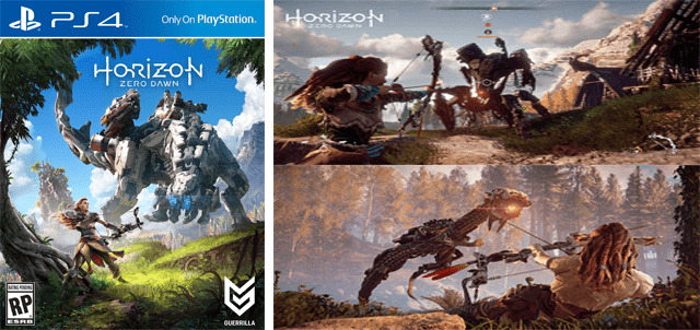 TEST DU JEU HORIZON ZERO DAWN