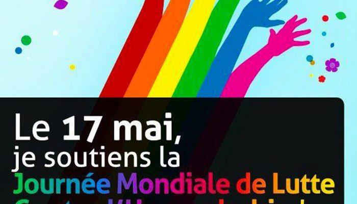 17 MAI - Journée mondiale contre l'homophobie
