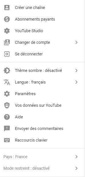 Le controle parental sur YouTube