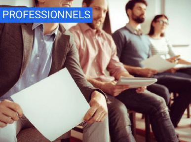 Sensibilisation pour les professionnels