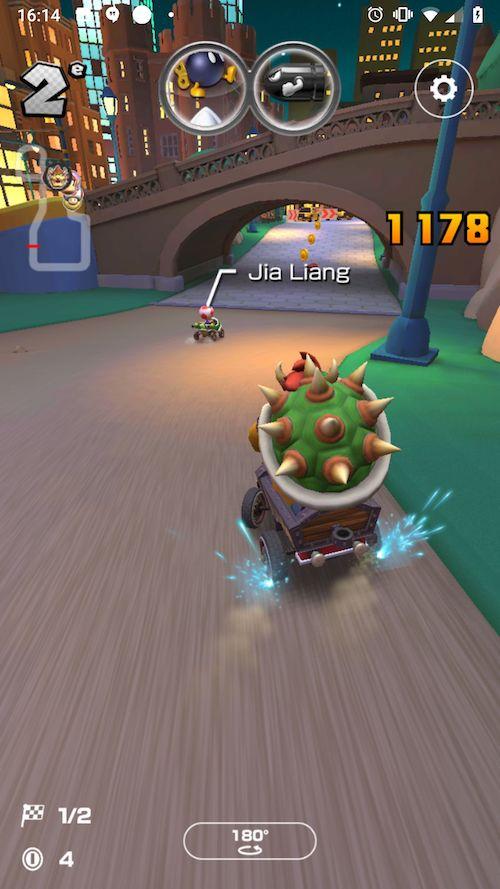 Test du jeu Mario Kart Tour