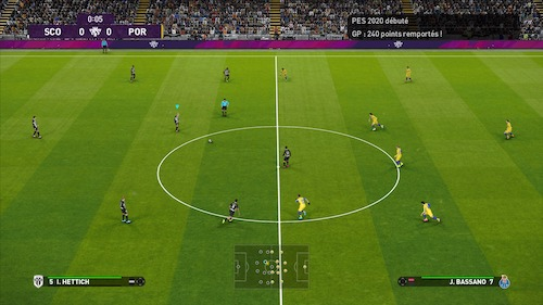 Test du jeu eFootball PES 2020