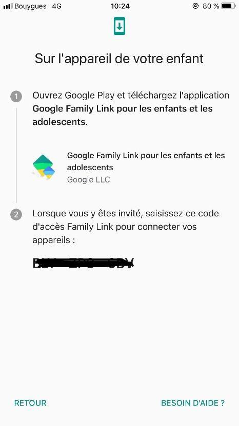 CONTRÔLE PARENTAL FAMILY LINK - Gratuit