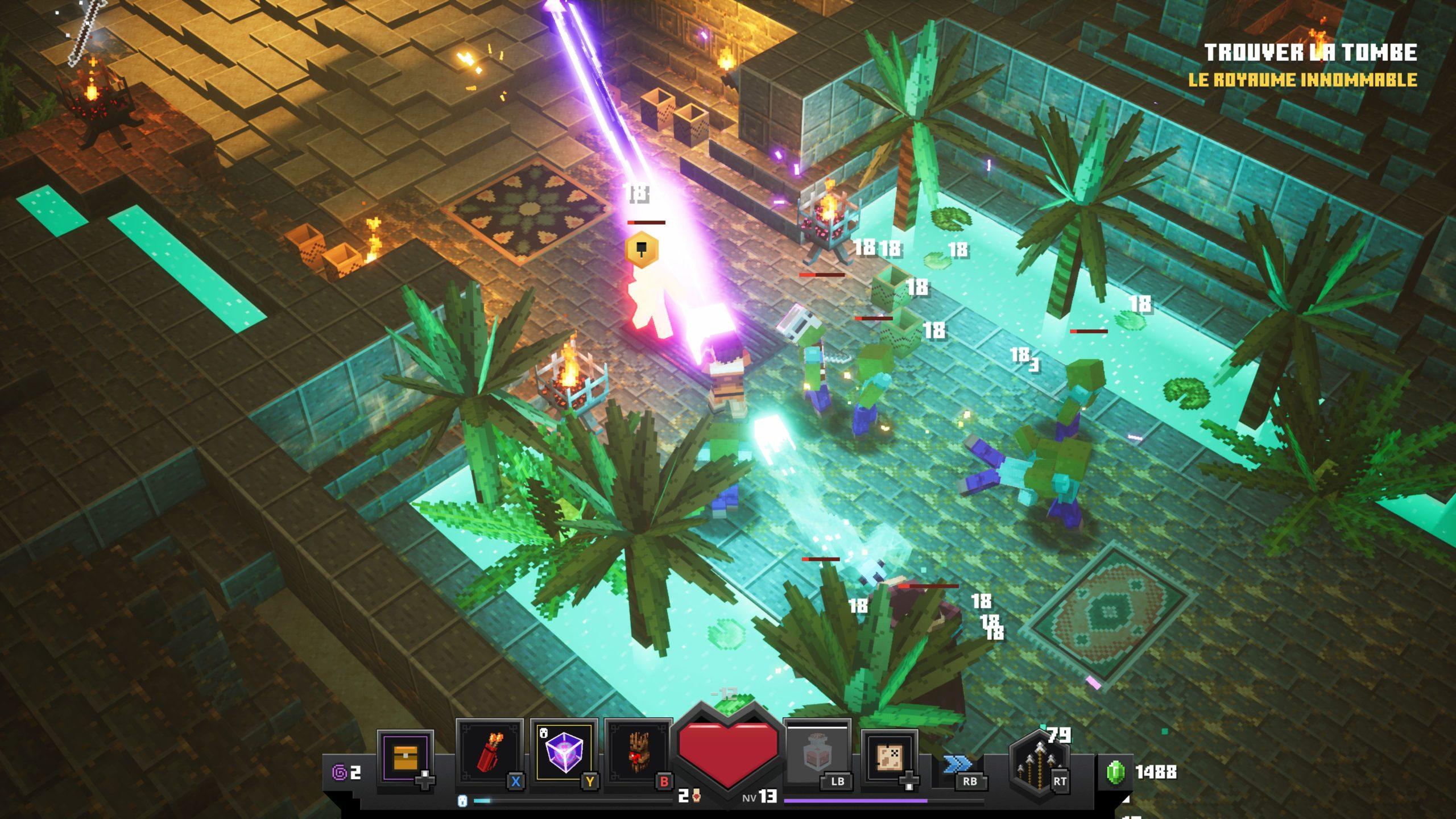 Test de jeu - Minecraft Dungeons