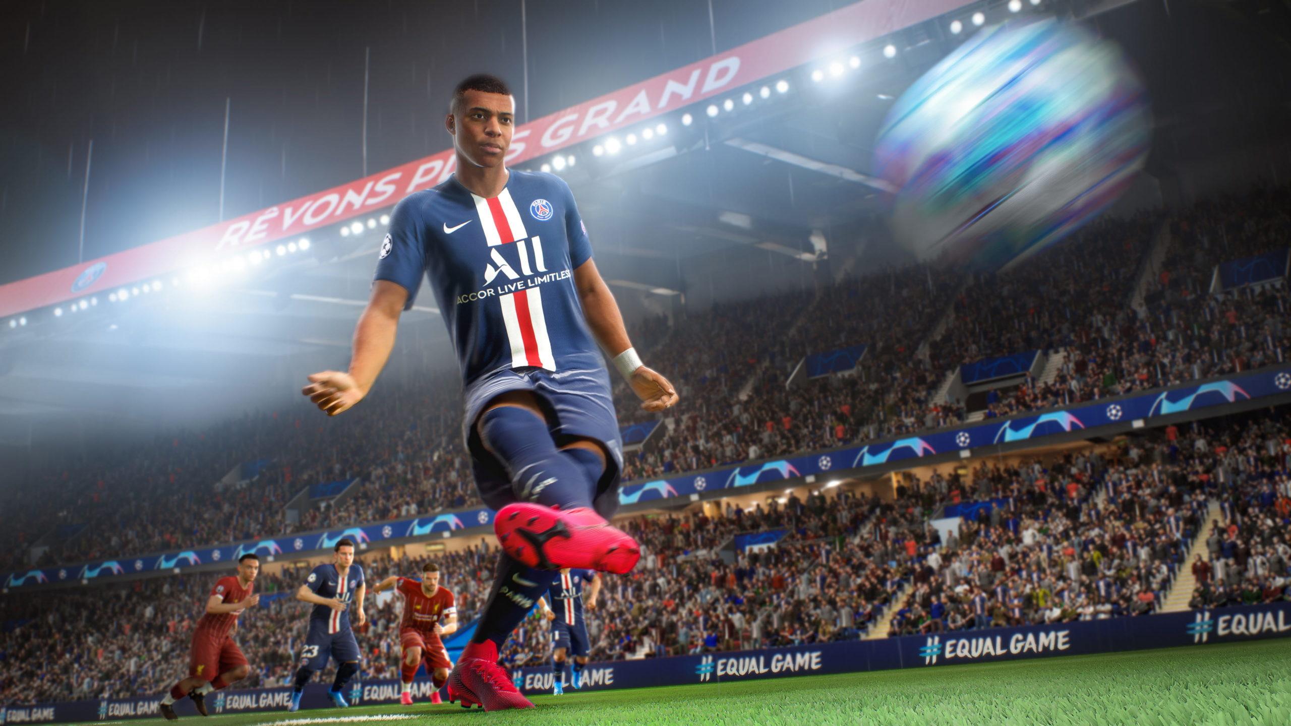 Test de jeu - FIFA 21