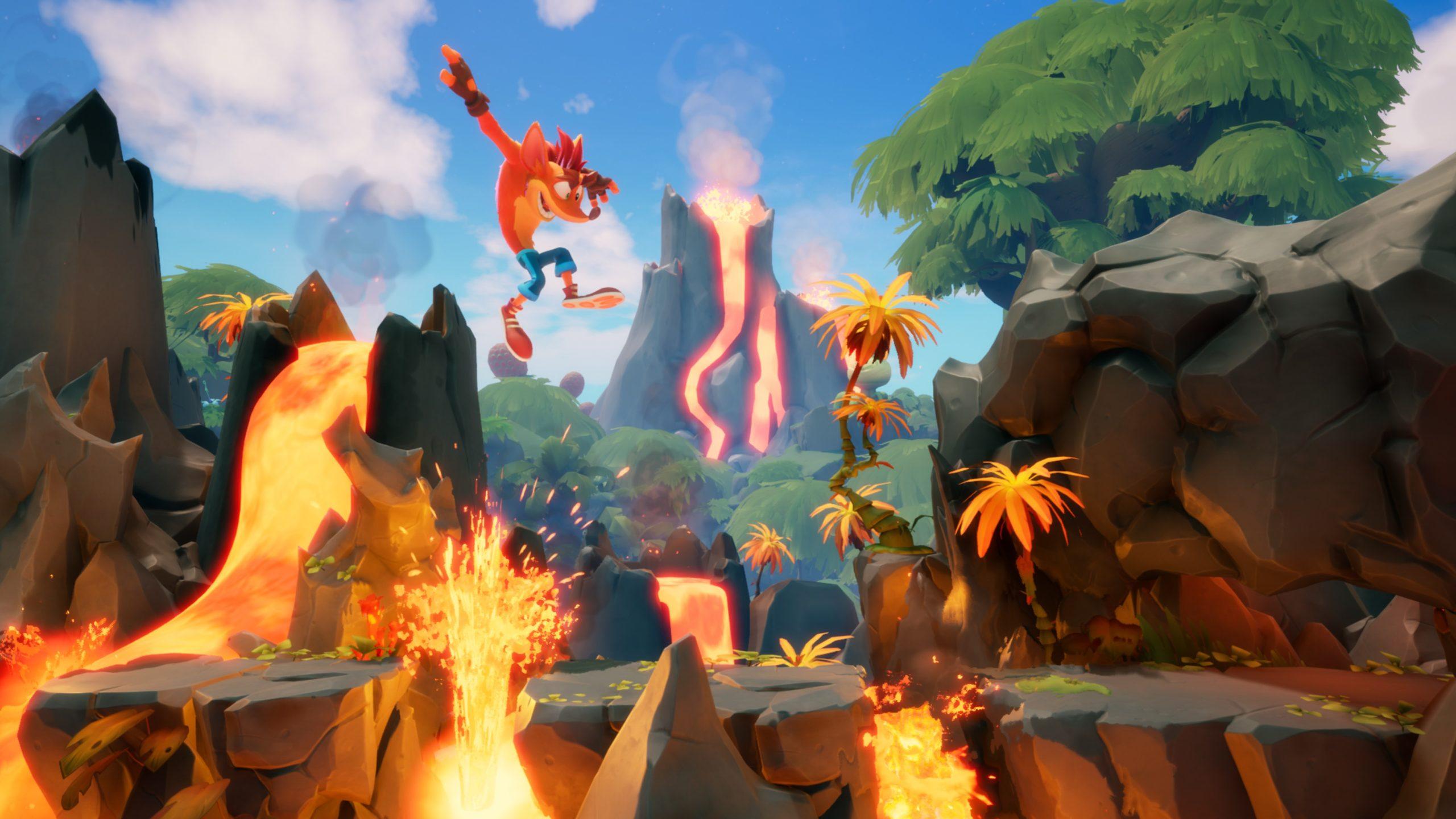 Test de jeu - Crash Bandicoot 4 : It's About Time