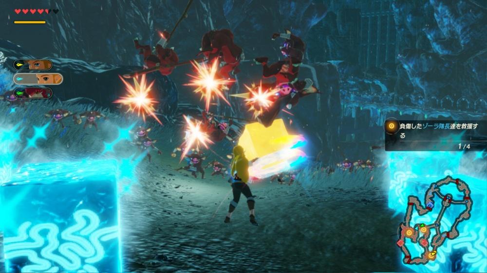 Test de jeu - Hyrule Warriors : L'Ere du Fléau