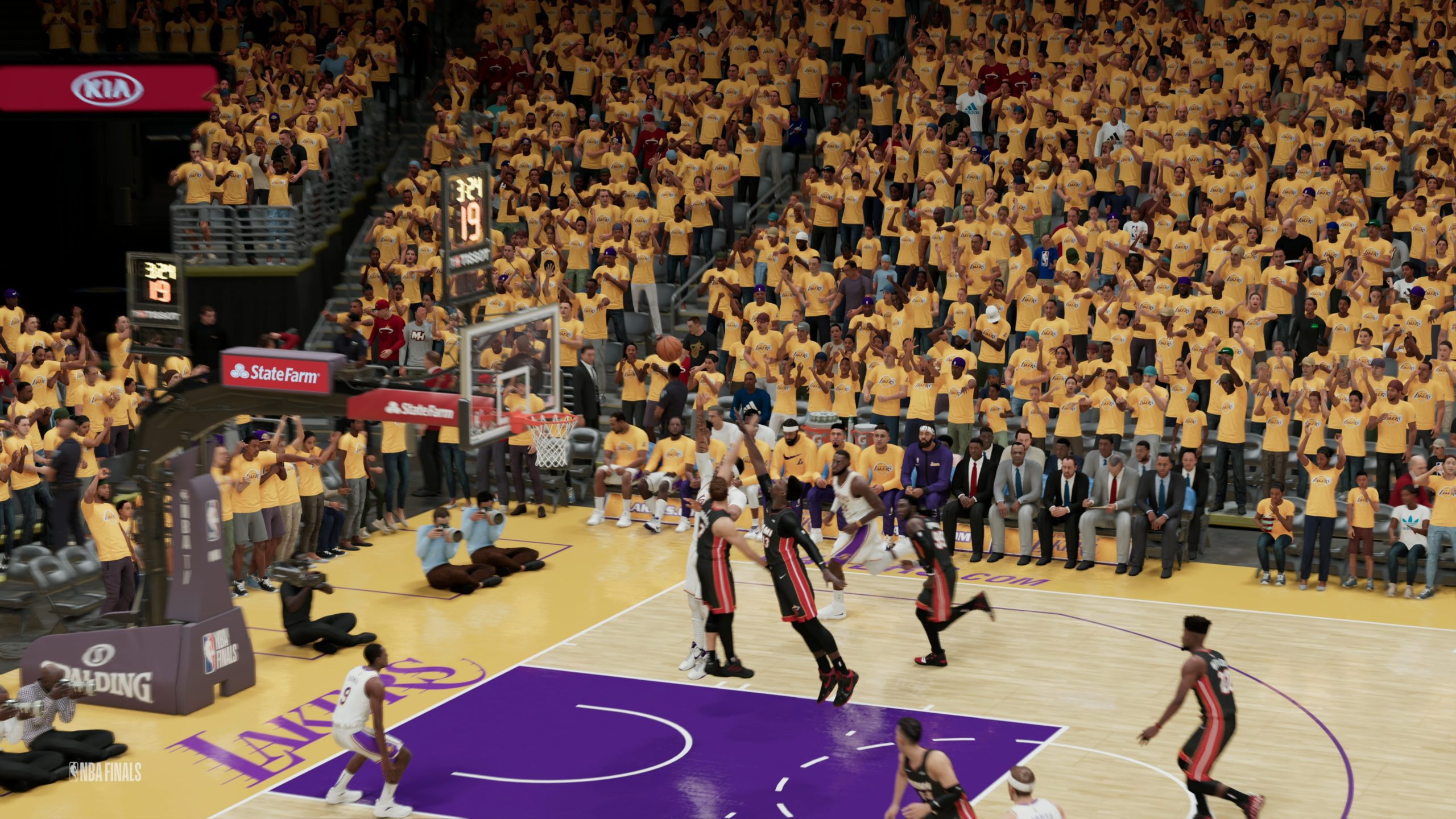 Test de jeu - NBA 2K21