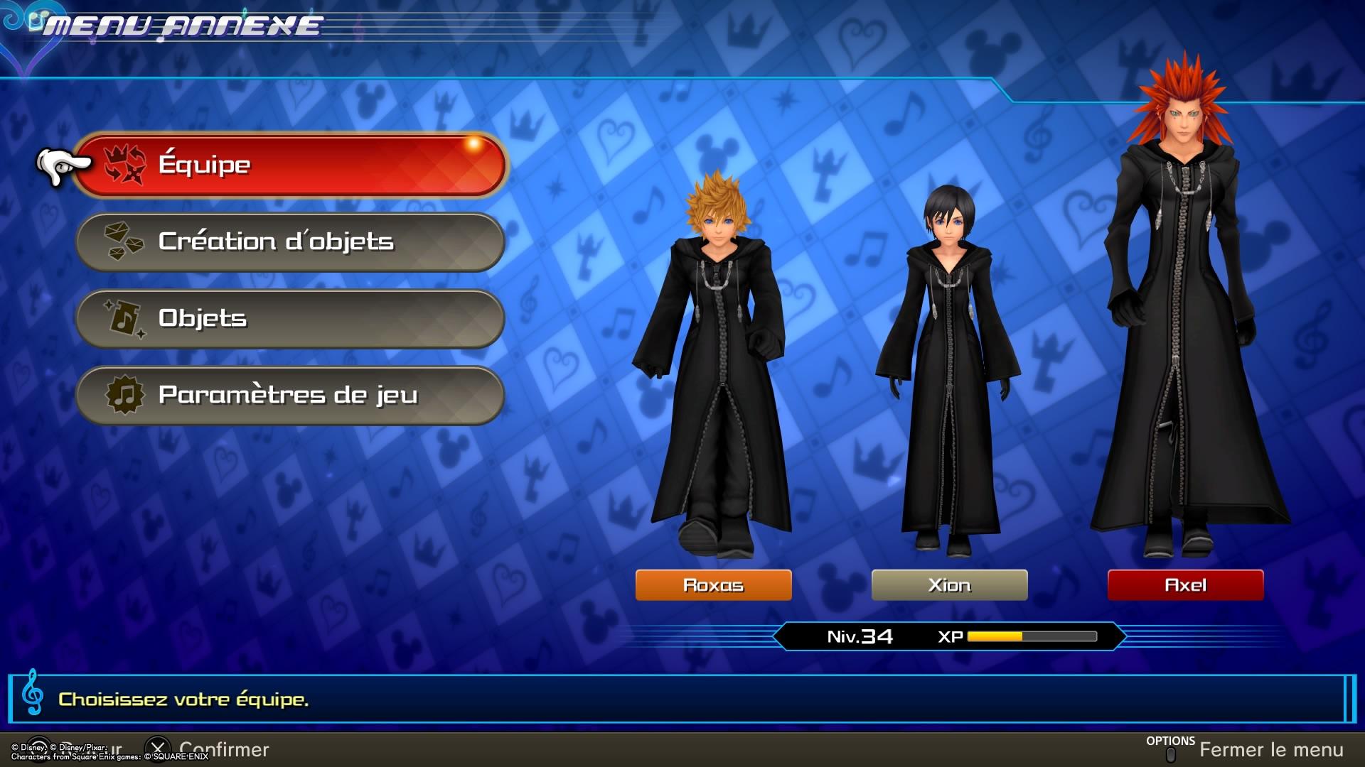 Test de jeu - Kingdom Hearts : Melody of Memory