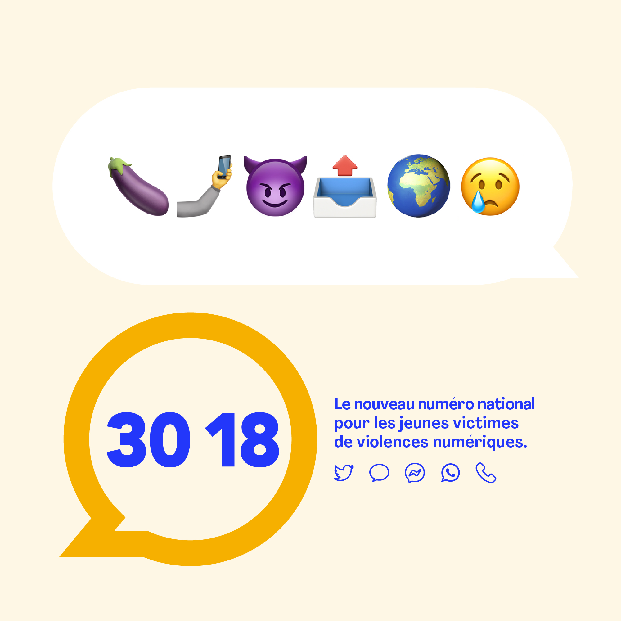 Le 3018, le numéro national contre les violences numériques