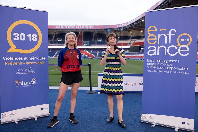 Un match caritatif organisé en faveur de l'Association e-Enfance