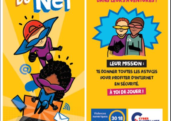 « Deviens un super-héros du Net » : l'édition spéciale des  Incollables®, conçue par l'Association e-Enfance/3018 et Cybermalveillance.gouv.fr est disponible