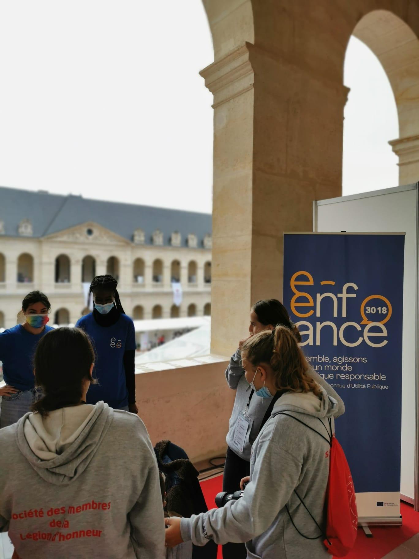 L'Association e-Enfance participe aux Olympiades de la Jeunesse, organisées par la Société des Membres de la Légion d'Honneur (SMLH)
